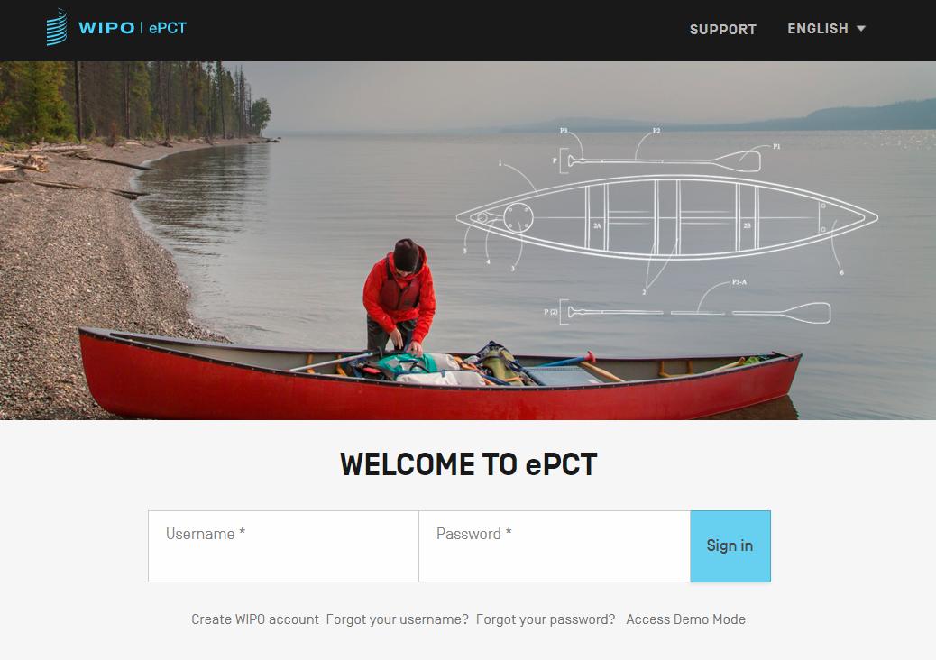 ePCT系統登錄網頁截圖